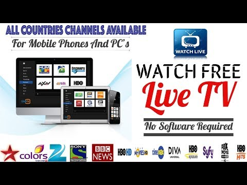 How To Watch Any Live TV Channel 🔴  For Free 🔥  Any Android & Pc