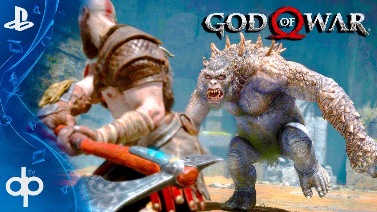 God Of War 4 Espanol Misiones Post Final Del Juego Ps4 Pro