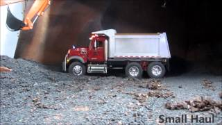 Climbing Exclusive RC hill with the Mack dump truck