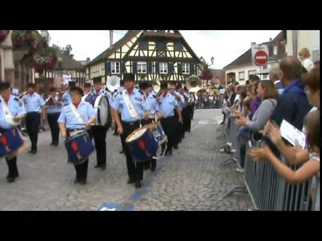 Batterie Fanfare des Sapeurs Pompiers de Kuttolsheim - Festival du Sucre