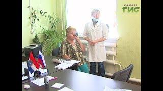 Когда доктор едет к вам. В селе Чёрновка работала мобильная медицинская приемная