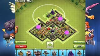Clash of Clans - Farming design for TH10