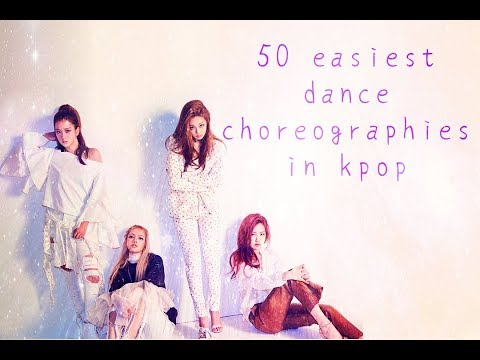 50 The easiest dance choreographies in Kpop