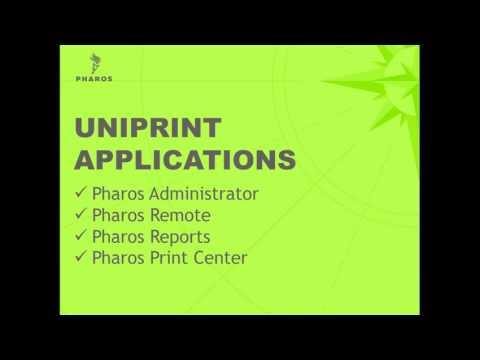 Pharos Uniprint New Administrator Training Webinar