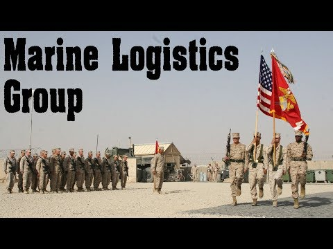 The History of the 1st Marine Logistics Group