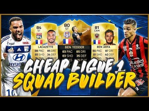 BEST CHEAP LIGUE 1 TOURNEY SQUAD!! | TOTS Gonalons - FIFA 16