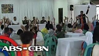 TV Patrol: Ilang batang 'bakwit', sasamahan ng mga sundalo kay Duterte