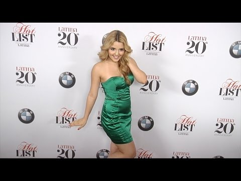 """Sharlene Taule // LATINA """"Hot List"""" 2015 Party Red Carpet Arrivals from YouTube · Duration:  31 seconds"""
