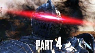 Dark Souls 2 Gameplay Walkthrough Part 4 - The Pursuer Boss (DS2)