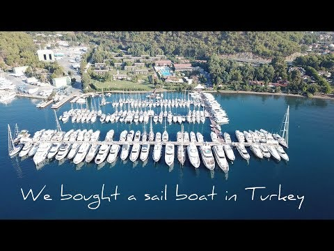 1. We bought a sailing boat in Turkey | Europe | First week after buying a boat in Turkey