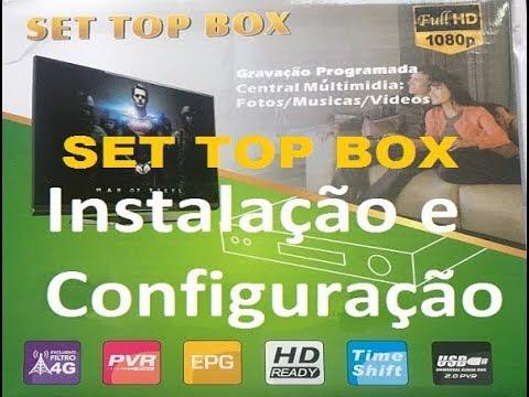 Conversor Digital Set Top Box