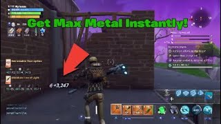 Unlimited Metal Glitch Fortnite Save The World (not working)