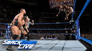American Alpha vs. The Usos: SmackDown LIVE, March 14, 2017