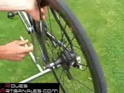 Great wheel test - Part 3 - Stiffness - Roues Artisanales