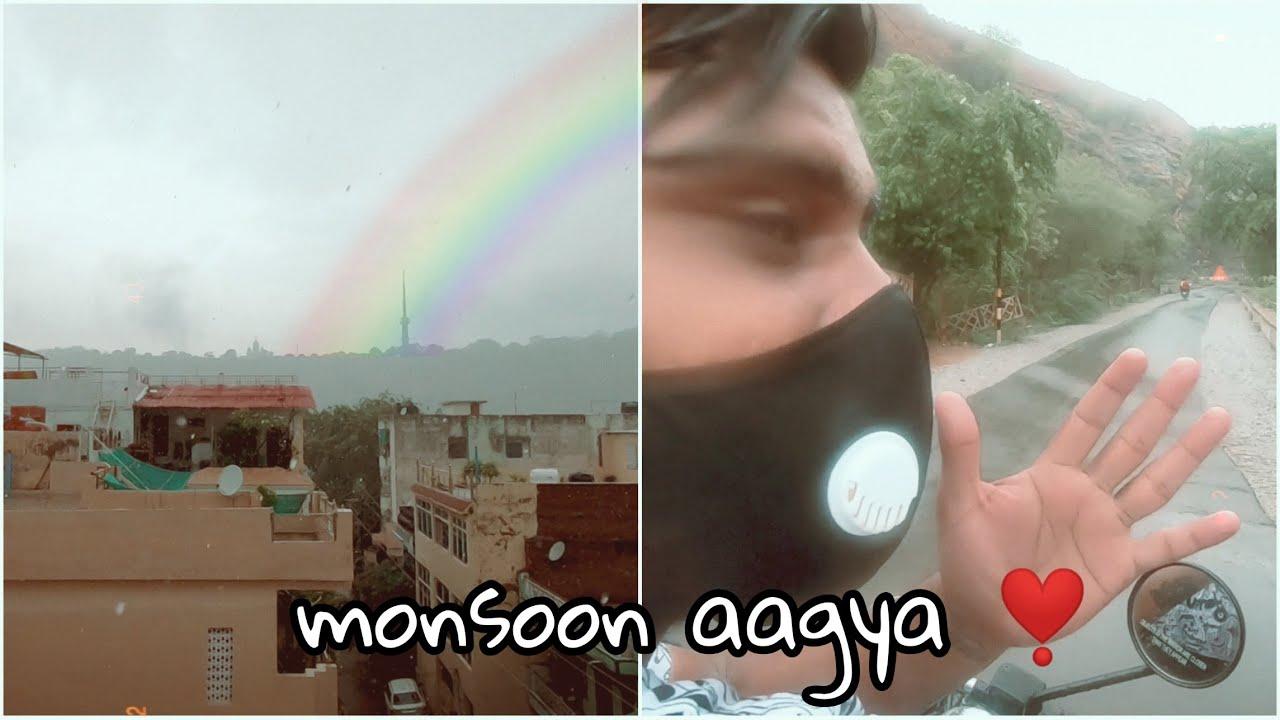 MonsOOn ki phali Barrish...❤😍☔