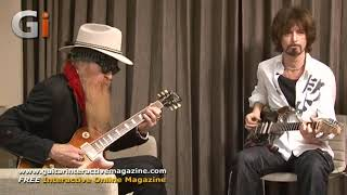 �������� ���� Billy Gibbons Guitar Jam with Michael Casswell ������
