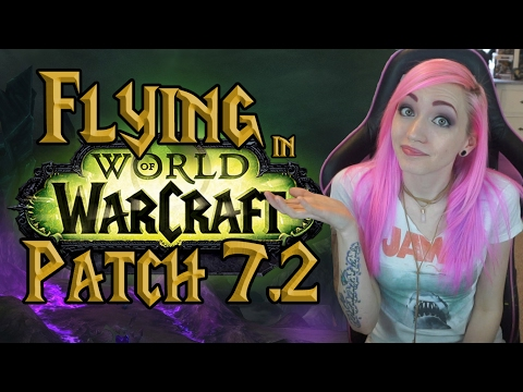 WoW 7.2 Class Mounts | How to Fly in Legion Content | Broken Isles Pathfinder