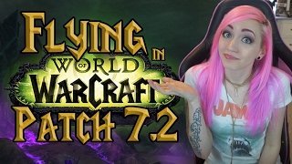 WoW 7.2 Class Mounts   How to Fly in Legion Content   Broken Isles Pathfinder
