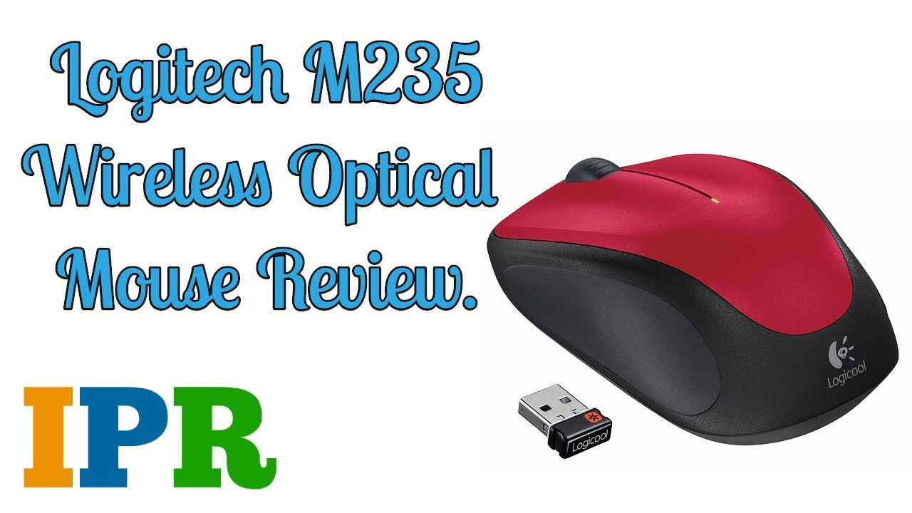 5ed46087a48 Invisible Optic Logitech M235 Budget Wireless Mouse | IPR - YouTube