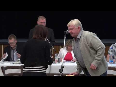 Ustavující zasedání zastupitelstva Města Hoštky ze dne 31. 10. 2018