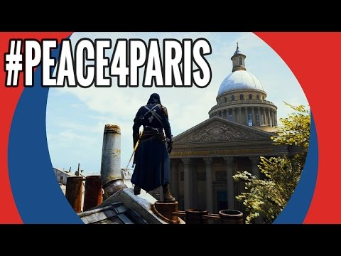 #Peace4Paris - @AssassinsCreed Unity gameplay by @Ubisoft