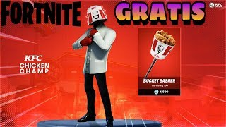HOW TO GET THE NEW FREE KFC SKIN PACK at Fortnite Battle Royale