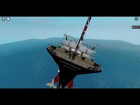 Lusitania sinking (Roblox) |