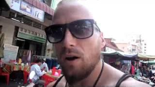 Repeat youtube video Cambodian Street Food Options & Speaking Khmer Via Phnom Penh, Cambodia