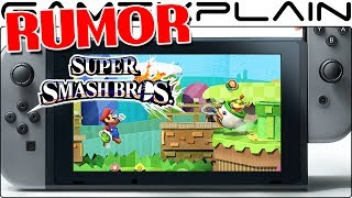 CONFIRMED FAKE: Purported Super Smash Bros. Switch Images Leaked