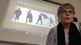 8 Dr Emelyne Godfrey on Suffragette jujitsu