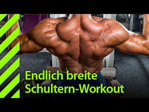 Endlich Breite Schultern Workout Youtube