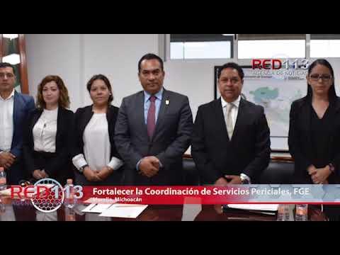 VIDEO Fortalecer la Coordinación de Servicios Periciales, compromiso de la Fiscalía General del Estado: Adrián López Solís