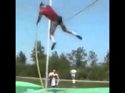 Funny Fail - Pole vault
