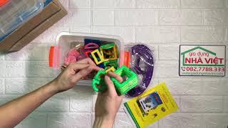 Bộ xếp hình nam châm Magical Magnet Toys