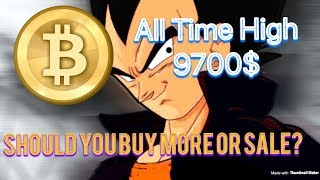 Bitcoin All Time High 9700! Now What? Buy or Sell?