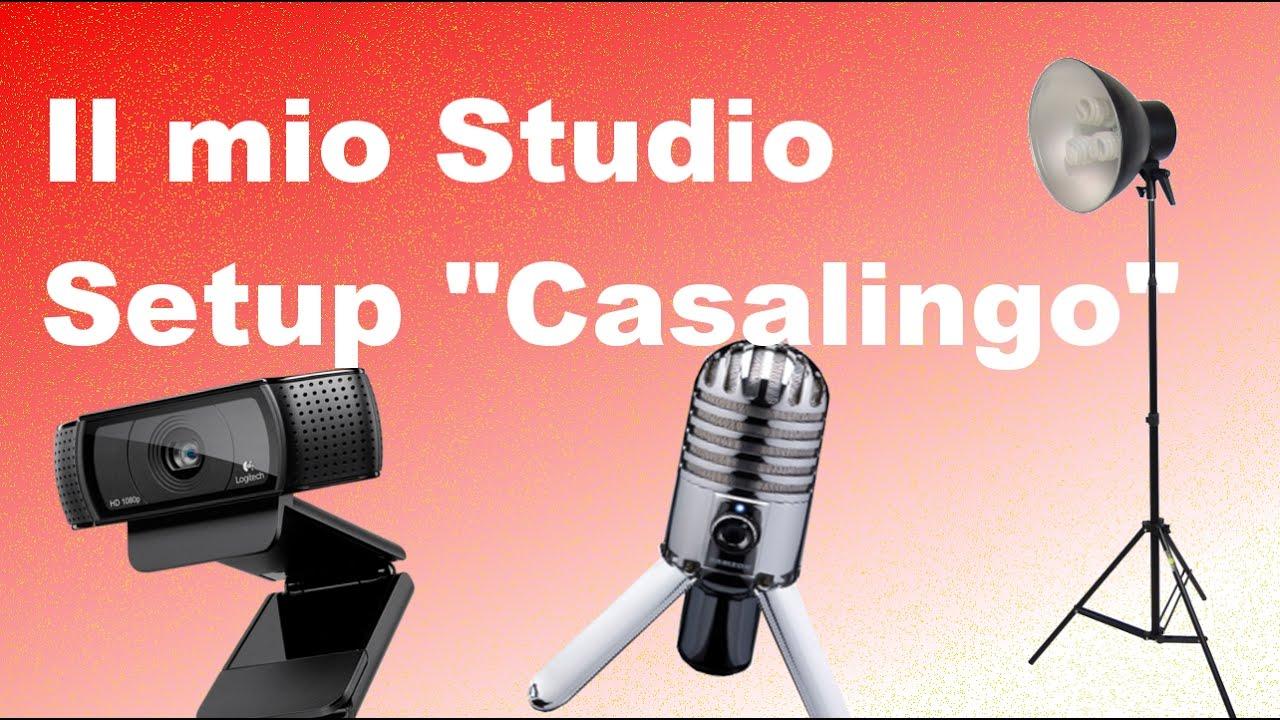 Presentazione del mio studio di video registrazione casalingo youtube - Studio di registrazione casalingo ...