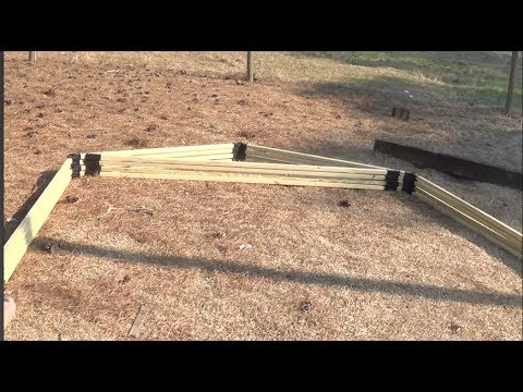 building my own greenhouse using the ez frames kit part 2