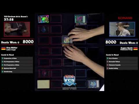 YCS Bochum 2018 - Round 1 - Cyber Angel vs Palezoic Frogs