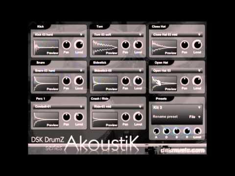 DSK DrumZ AkoustiK - Free VST