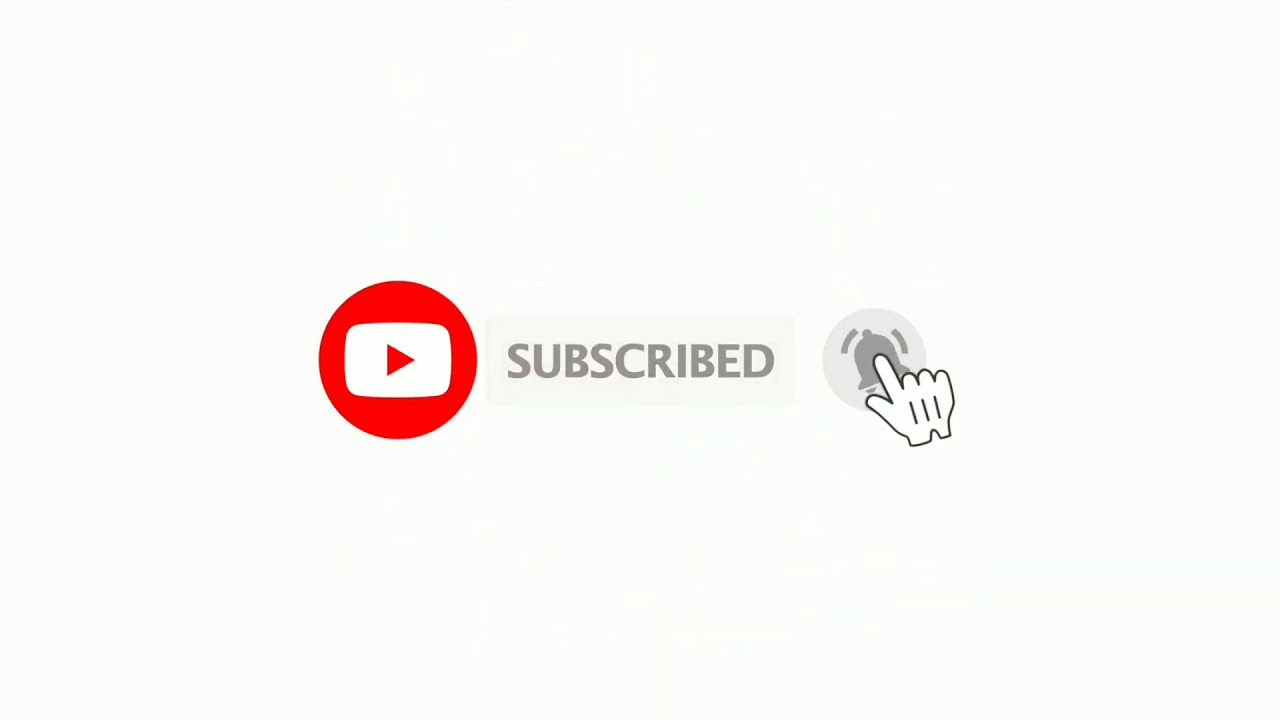 Download Subscribe and bell icon intro and sound without copyright | animation subscribe button