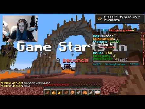 Minecraft HUNGER GAMES Reboot Ep 1