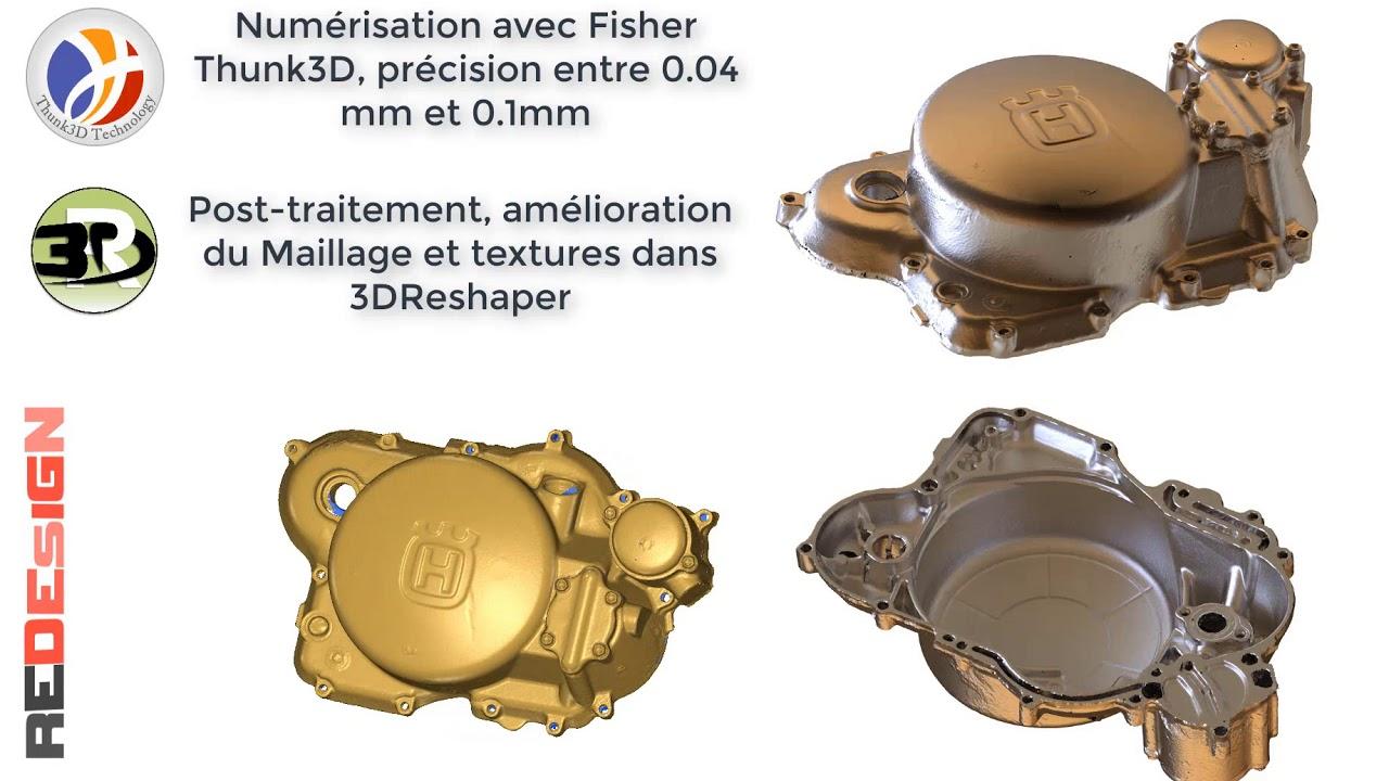 3DReshaper et FisherScanner3D