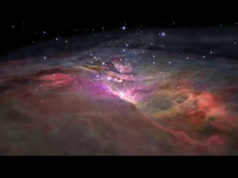 Fly Into the Orion Nebula - New 3D Visualization