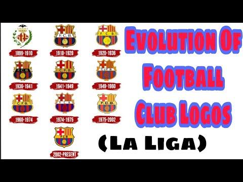 Video Barcelona Logo History