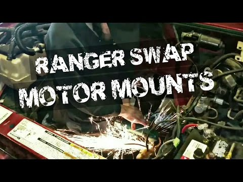 BUILDING BUDGET LS 6.0 LQ4 FORD RANGER SWAP MOUNTS!!!