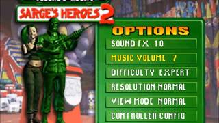 Army Men Sarge's Heroes 2 (N64) Full Walkthrough [HD 60FPS - Expert Mode]