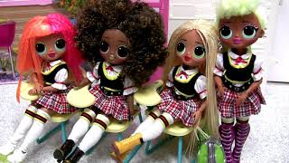 lol OMG doll unboxing Cosmic Nova Fashion Doll & Sister Winter Disco toys review