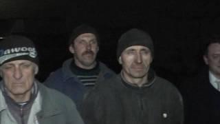 Чевствование бригады ремонтников, учавствовавших в ремонте водовода Горловка Торецк