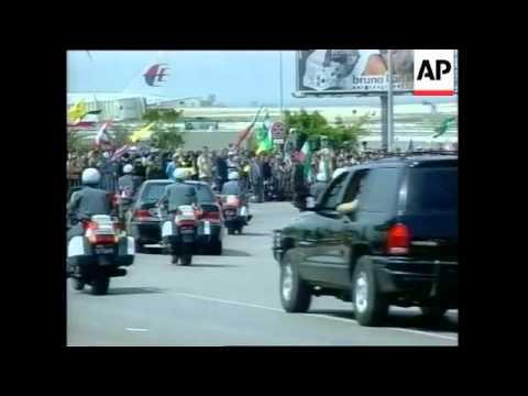 VOICED Khatami arrives in Beirut for historic visit