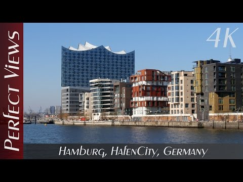 Hamburg, HafenCity, Germany - 4K Ultra HD Video (2160p)